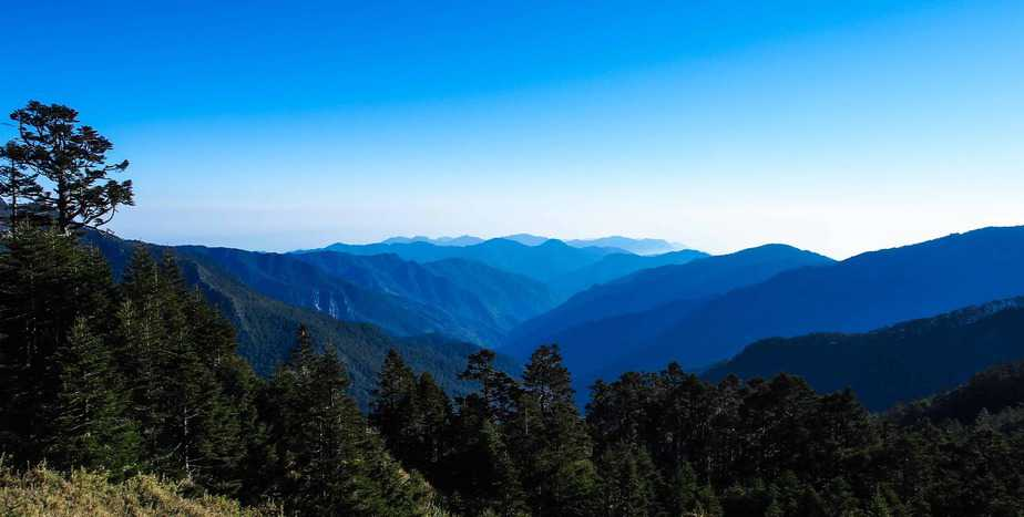 Taiwan Mountain Range –  Mt Pintian to Mt Dapajian Traverse