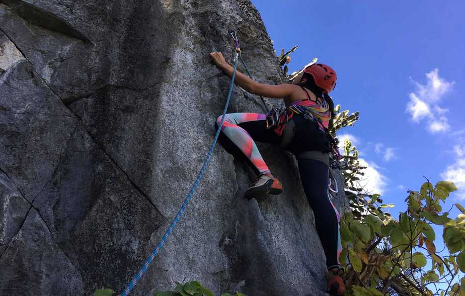 Outdoor Rock Climbing Clinic – Lopburi, Thailand