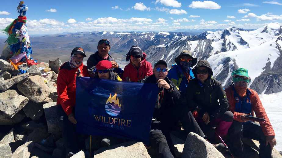 Mongolia! Altai Mountains Trek and Mount Khuiten Summit