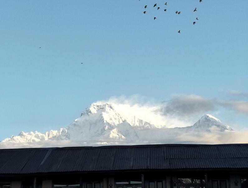 Annapurna and Himchuli, Nepal