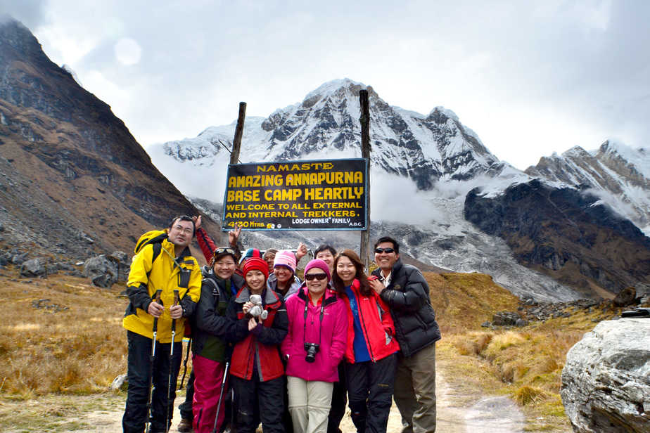 Annapurna Base Camp (ABC) Trek (11 days) – Nepal