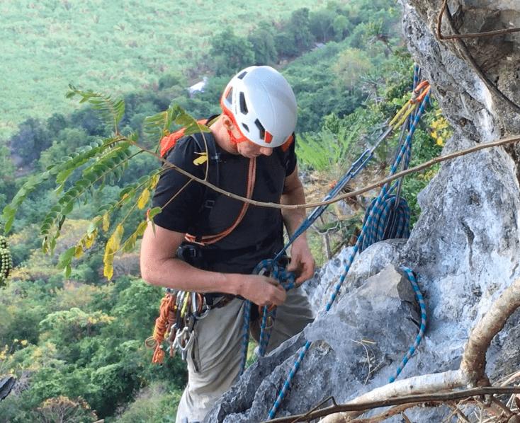 Beginners Rock Climbing Thailand